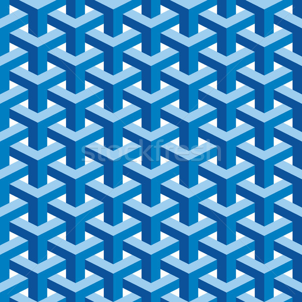 Seamless Escher Pattern Stock photo © Suljo