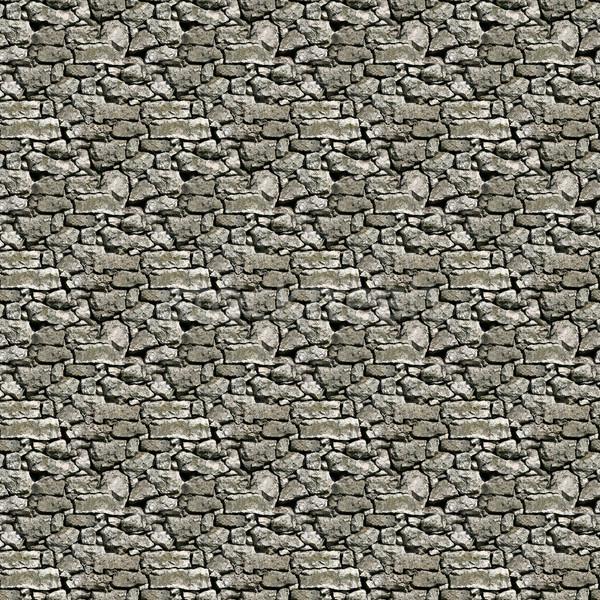 Mur de pierre texture calcaire sécher mur Photo stock © Suljo