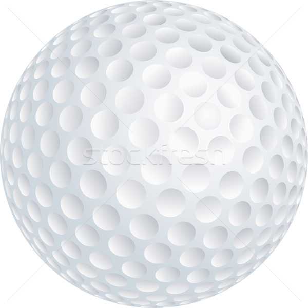 Photo stock: Balle · de · golf · golf · fond · sport · jouer · cercle