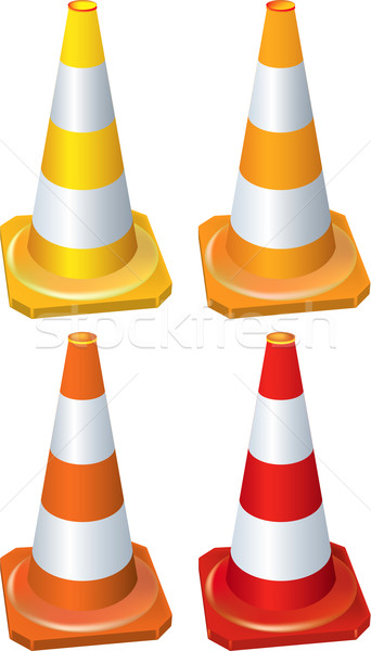 Cones Stock photo © Suljo