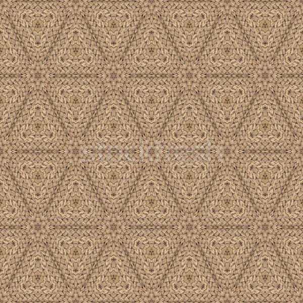 Doormat Seamless Texture Background Stock photo © Suljo