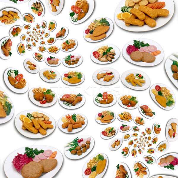 Plenty meals Stock photo © Suljo