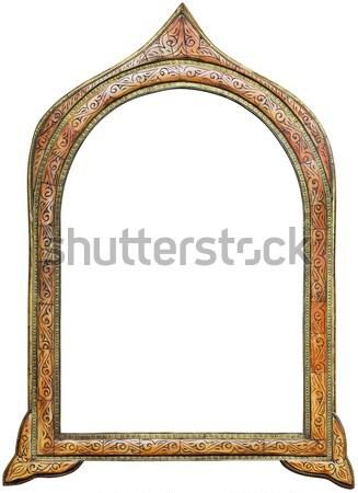 Moroccan Mirror Cutout Stock photo © Suljo