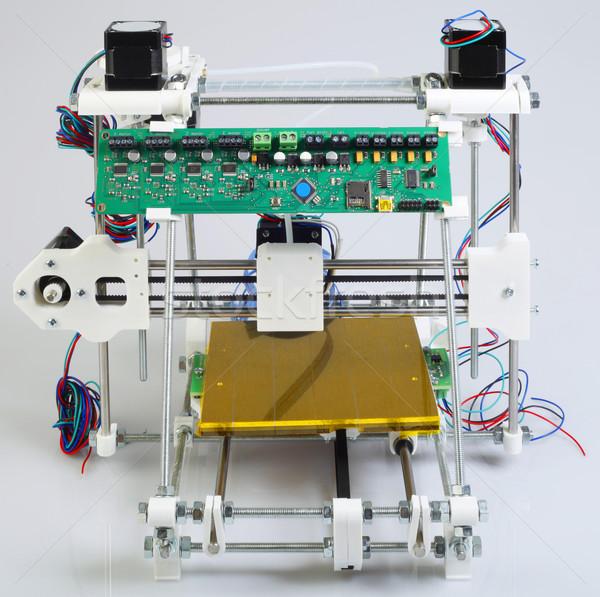 Сток-фото: 3D · принтер · открытых · источник · модель · науки