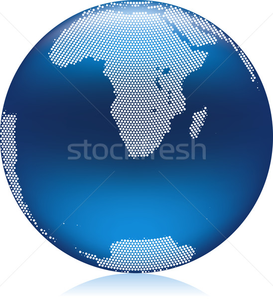 Blue globe Stock photo © Suljo