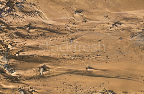 Sztuczny teren gleby widok z lotu ptaka wody Zdjęcia stock © Suljo