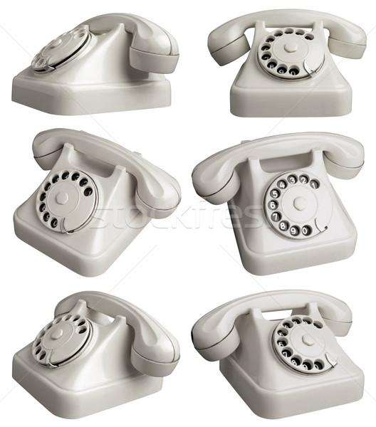 TelephoneOne Stock photo © Suljo