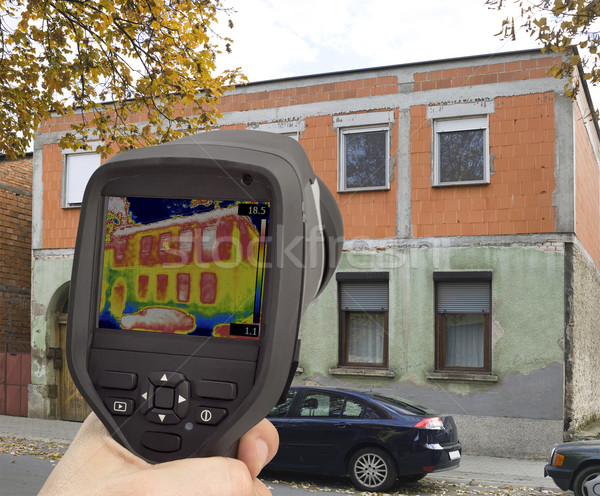 Thermal Imaging Investigation Stock photo © Suljo