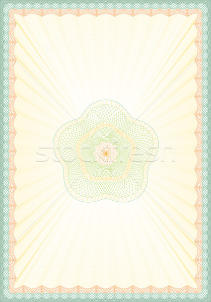 Guilloche Vector Background Stock photo © Suljo