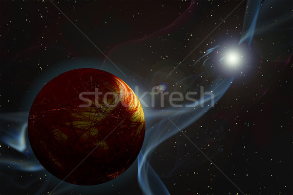 Gamma Ray Burst Stock photo © Suljo