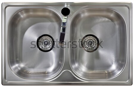 Kitchen Sink Cutout Stock photo © Suljo