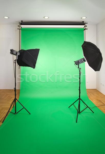 Empty Photo Studio Stock photo © Suljo