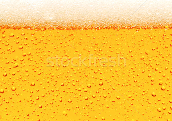 Bier bubbels water textuur abstract Stockfoto © Suljo