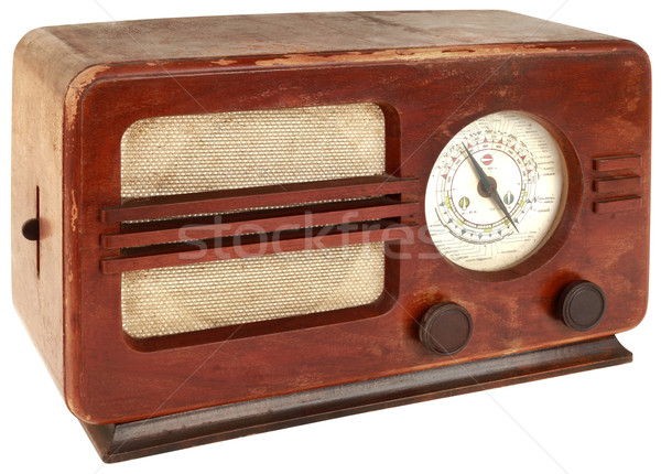 Old Radio Cutout Stock photo © Suljo