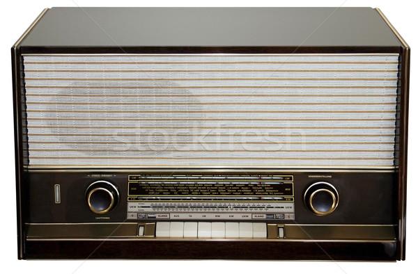 The old radio Stock photo © Suljo