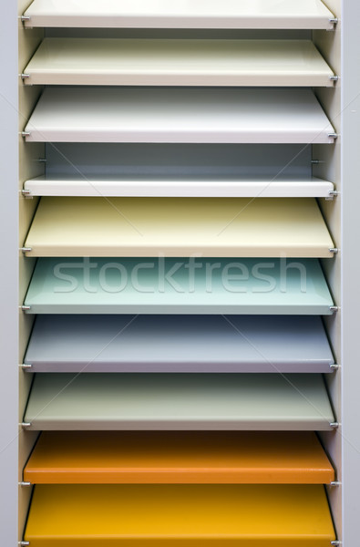 Colorful Bookshelf Stock photo © Suljo