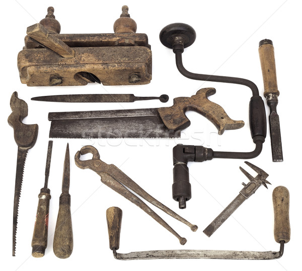 Old Wooden Tools Stock photo © Suljo