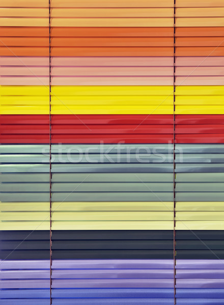 Colorful Blinds Stock photo © Suljo