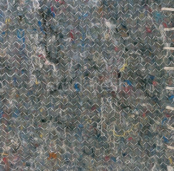 Textil öreg zsákvászon tákolmány űrlap textúra Stock fotó © Suljo