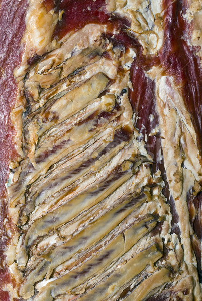 Dry Rib Bacon Stock photo © Suljo