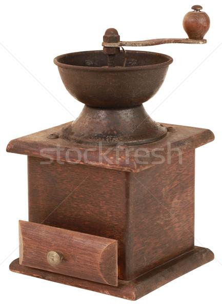 唐辛子 グラインダー カットアウト 孤立した レトロな ストックフォト © Suljo