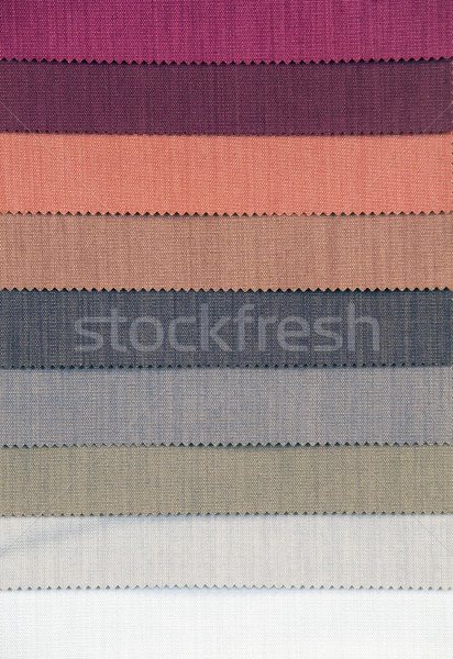 Stock photo: Curtain Swatch
