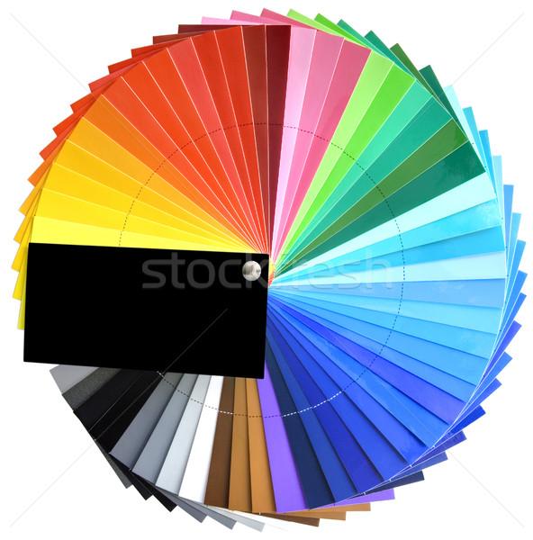палитра спектр образец изолированный фон Сток-фото © Suljo