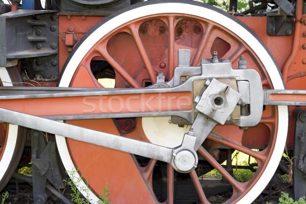 Stock photo: Wheel