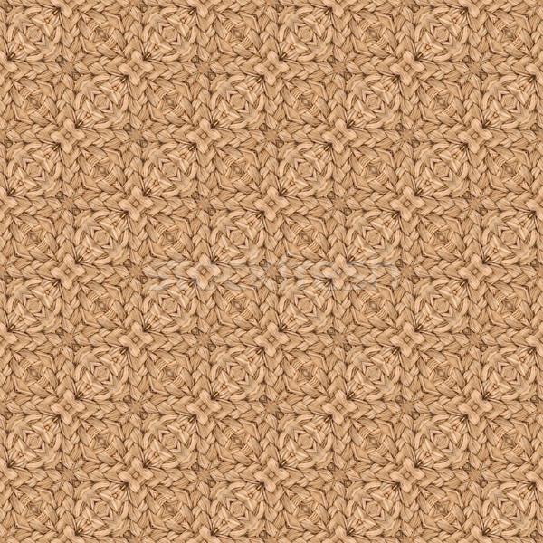 Knit Doormat Seamless Texture Stock photo © Suljo