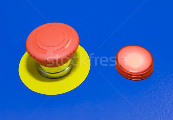 Panic button Stock photo © Suljo