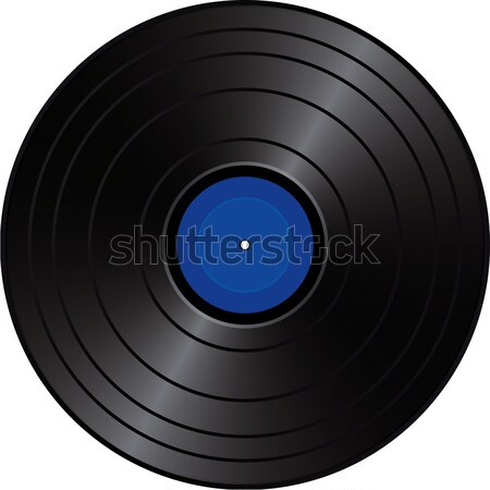 Vinyl Record Cutout Stock photo © Suljo