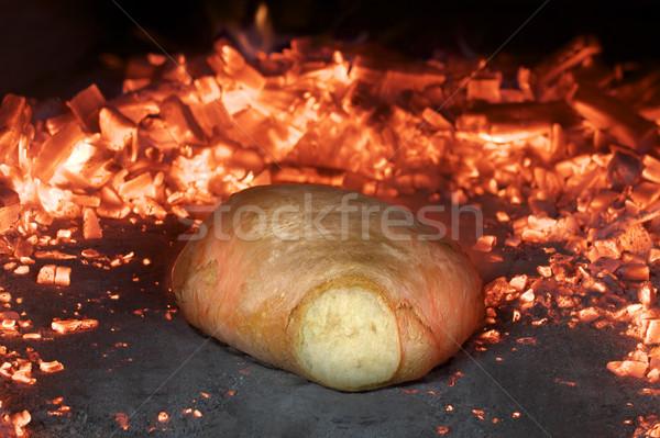по традиции хлеб традиционный печи жить Сток-фото © Suljo