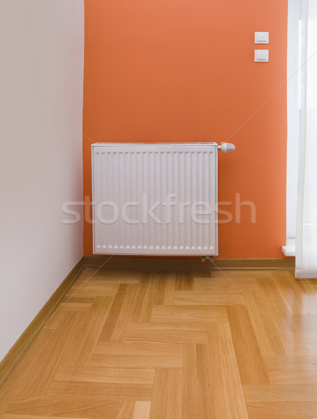 Szoba részlet radiátor fűtés energia tárgy Stock fotó © Suljo
