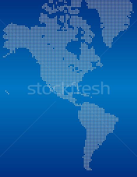 Americas Stock photo © Suljo