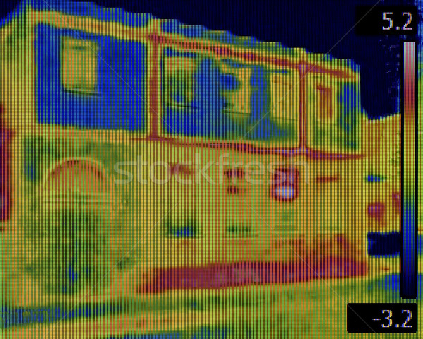 Facade Leaking Infrared Stock photo © Suljo