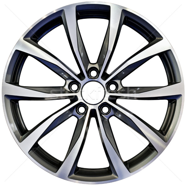 Aluminum Wheel Cutout Stock photo © Suljo