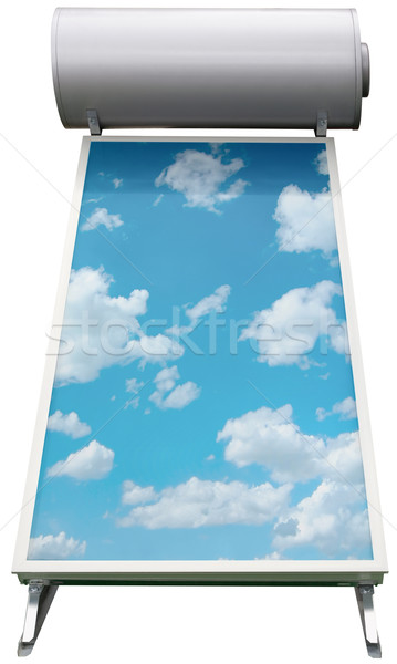 Solar Water Heating System Cutout Stock photo © Suljo