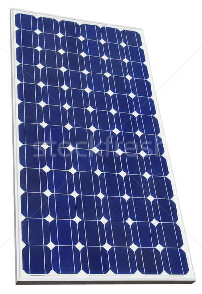 Photovoltaic Solar Cell Cutout Stock photo © Suljo
