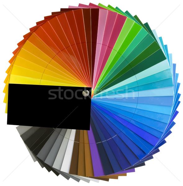 спектр колесо масштаба цвета палитра Сток-фото © Suljo