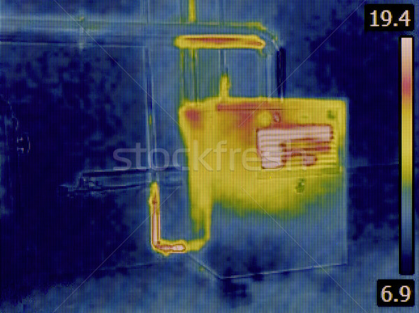 Heat Distribution Detection Stock photo © Suljo