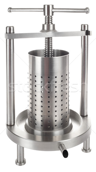 Stainless Steel Metal Press Cutout Stock photo © Suljo