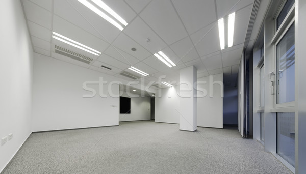 Empty white office Stock photo © Suljo