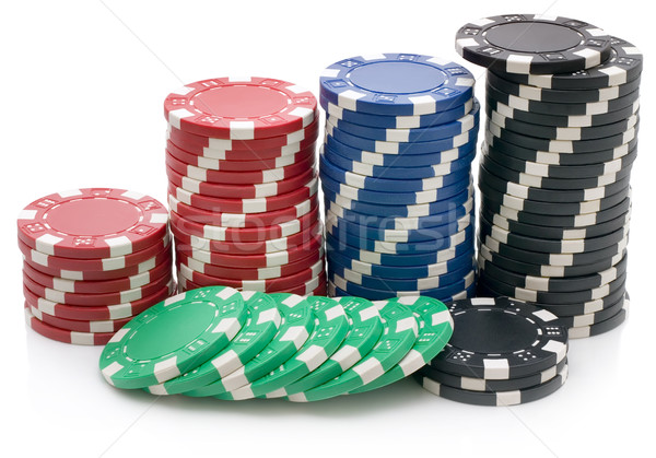 Poker chips Stock photo © Suljo