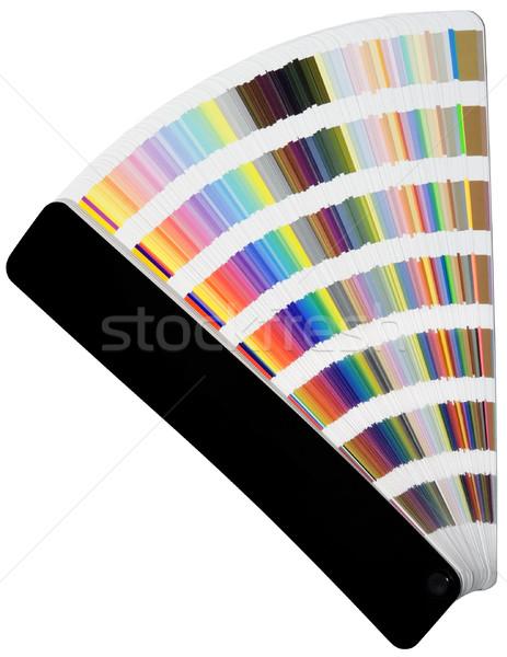 Color scale charts Stock photo © Suljo