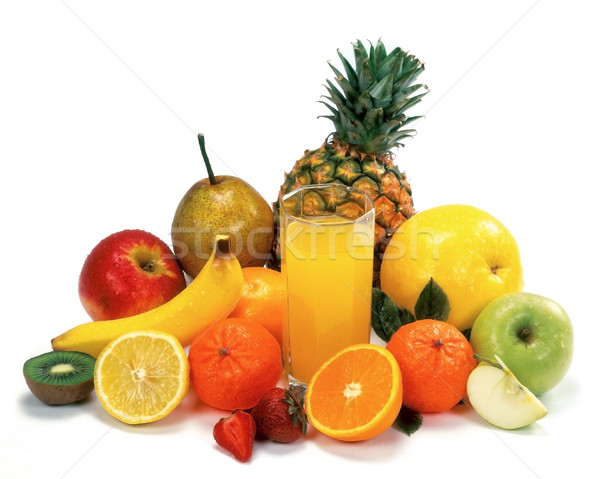 Mixed fruits Stock photo © Suljo