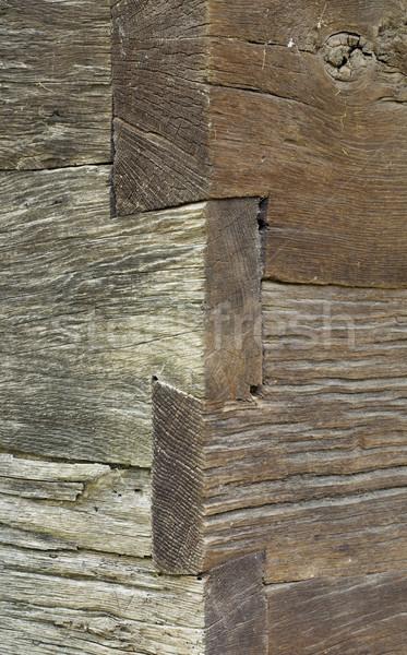 ściany rogu vintage budowy Zdjęcia stock © Suljo