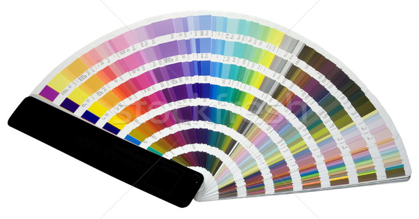 Color scale Stock photo © Suljo