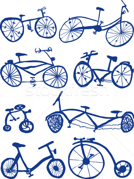 Bicycles Stock photo © Suljo