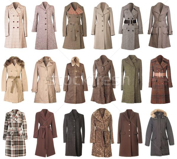Winter Coats Cutout Stock photo © Suljo
