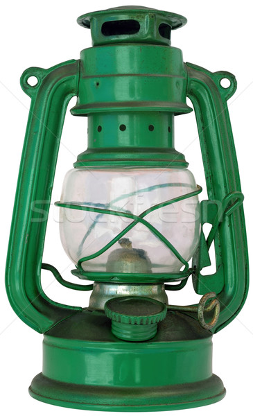 Oil Lamp Cutout Stock photo © Suljo